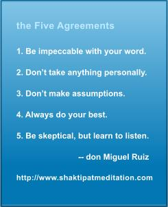 Five Agreements